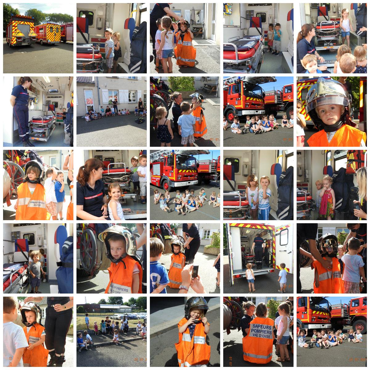 Collage pompiers 2017
