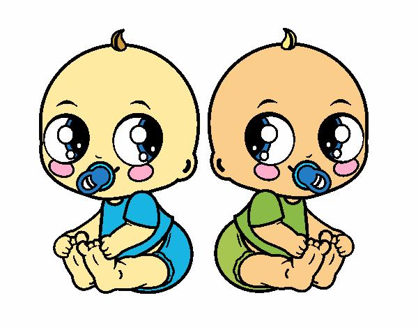 Twin babies family 85095 jpg